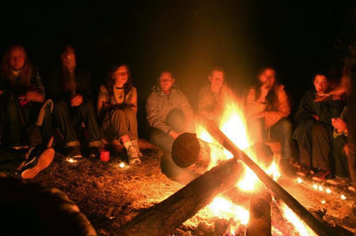 Отдых с палатками в Крыму